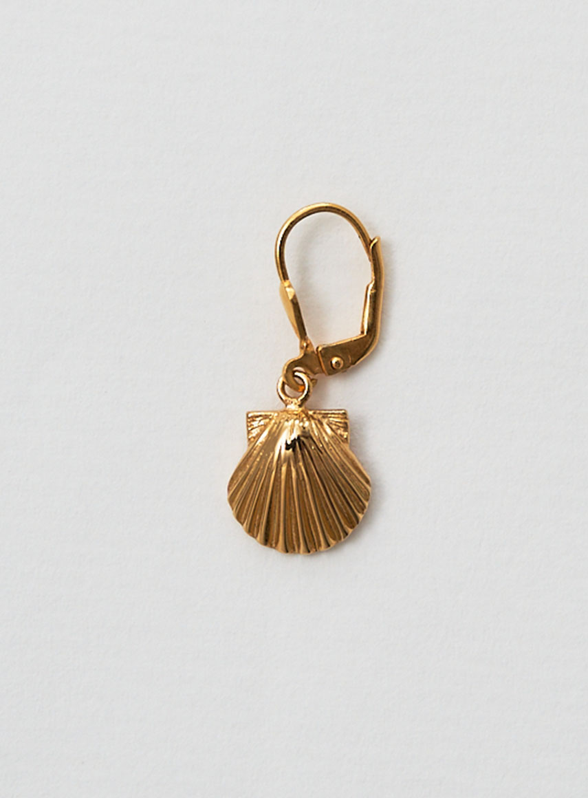 Seashell Earring Gold